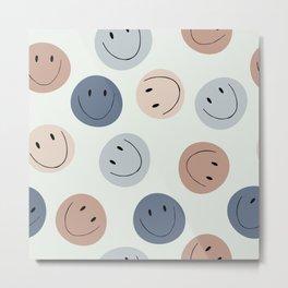 Smiley faces Metal Print