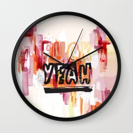 Yeah! (extended) Wall Clock