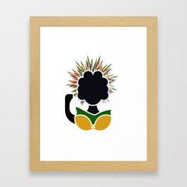 Winnie Madikizela-Mandela Framed Art Print