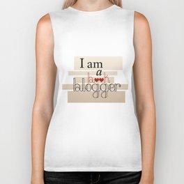I am a book blogger v.1 Biker Tank