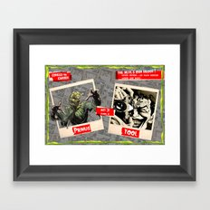 Halloween Show Framed Art Print