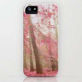 atmospheric autumn iPhone Case