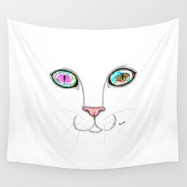 Cosmic cat Wall Tapestry