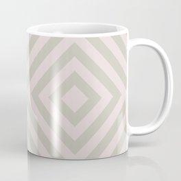 MONO:CHROMA Geometrica Earthy Pink Coffee Mug