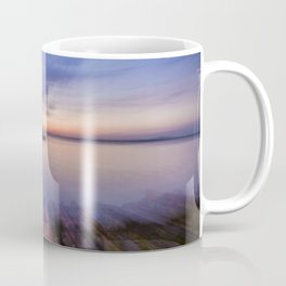 Into the Blue Horizon Coffee Mug