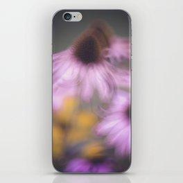 whispy flowers iPhone Skin