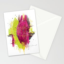 """Abstract """"Fougue"""" Stationery Cards"""