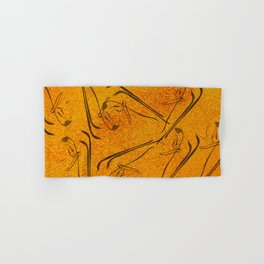 Abstract Nature on Grunge Hand & Bath Towel