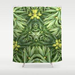 Celtic Yuletime Shower Curtain