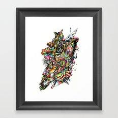 mole01 Framed Art Print