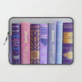 Shelfie in Purple Laptop Sleeve