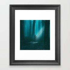 LOST (everyday 02.13.17) Framed Art Print