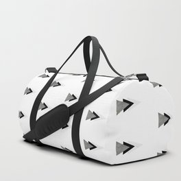 Arrows Collages Monochrome Pattern Duffle Bag