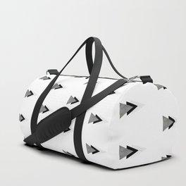 Arrows Collages Monochrome Pattern Duffle Bag