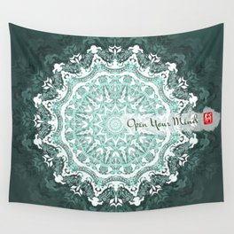 Mandala - Open Your Mind Wall Tapestry