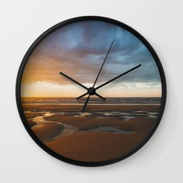 Beach Sunrise // LBI, NJ Wall Clock