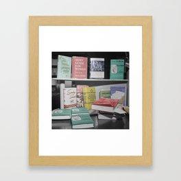 Home Economics Framed Art Print