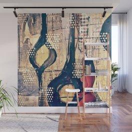 Abstract Experimentation V 2.0 Wall Mural