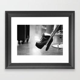 A Girl's Best Friend Framed Art Print
