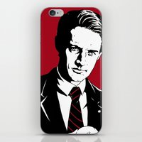 dale cooper iPhone & iPod Skins featuring Agent Dale Cooper, FBI by Shawn Dubin