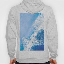 Little Blue Waves | Aerial Beach Hoody