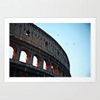 Rome Awakes Art Print