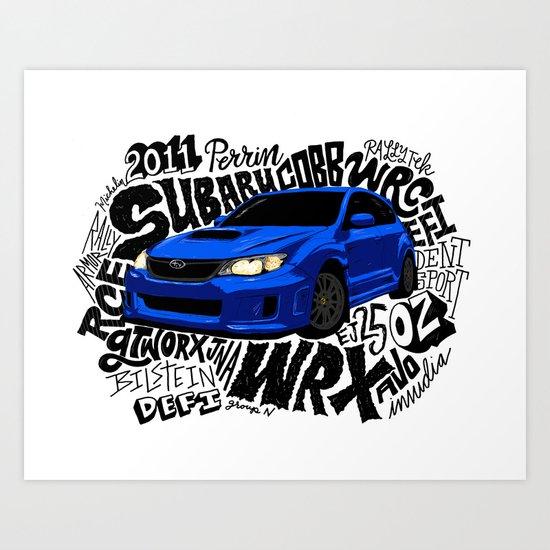 WRX Art Print
