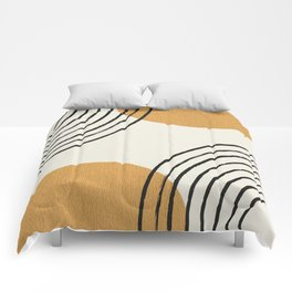 Sun Arch Double - Gold Comforters