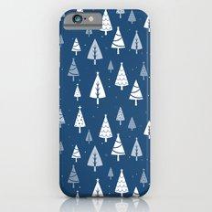 Christmas Tree Pattern (Blue) Slim Case iPhone 6s