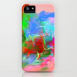 Fantasy World iPhone Case