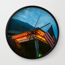 Roundhouse Wall Clock