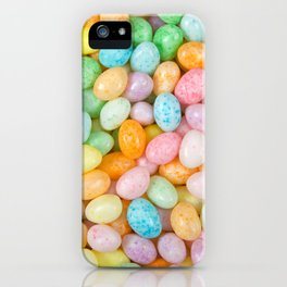 Happy Easter Speckled Jelly Beans iPhone Case