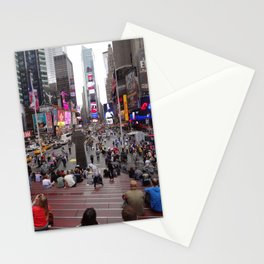Times Square, New York, 5th Avenue Stationery Cards