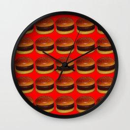 Burger Takeaway Wall Clock