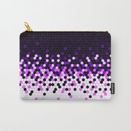 Flat Tech Camouflage Reverse Purple Carry-All Pouch