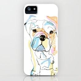 Bulldog Colour iPhone Case