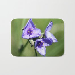 Spiderwort Bath Mat