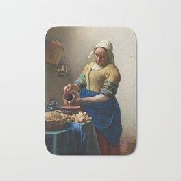 Vermeer - The Milkmaid Bath Mat
