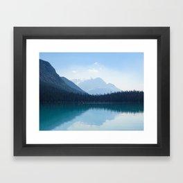Afternoon on Emerald Lake Framed Art Print