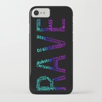 rave iPhone & iPod Cases featuring Rave  by Illuminany