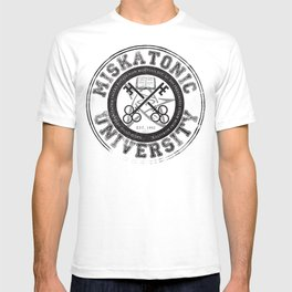 Miskatonic University Emblem (light version) T-shirt