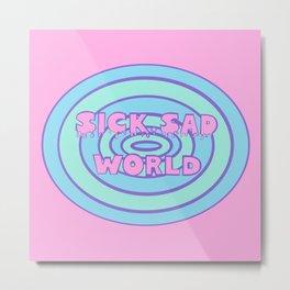 Sick Sad World Daria Favorite Documentary in Pastel Metal Print