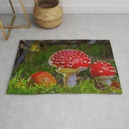 Mushroom Rug