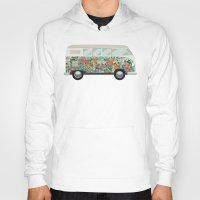 van Hoodies featuring Hippie van by eARTh