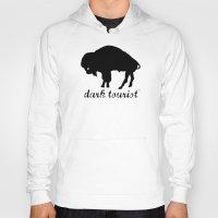 buffalo Hoodies featuring Buffalo by DarkTourist