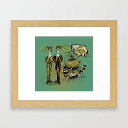 The Electro Bros and The Laugh Machine Framed Art Print