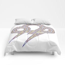 Rainbow Lightning Comforters