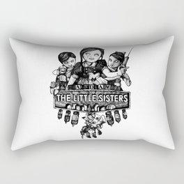 Rapture's Emblems : The Little Sisters Rectangular Pillow