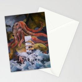 Chuthulu Fantasy Stationery Cards