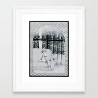 tatoo Framed Art Prints featuring Tatoo by Katz Can't Read